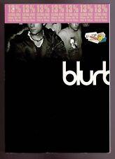BLURBOOK SIGNED Blur RockBand Damon Albarn Graham Coxon Alex James Dave Rowntree