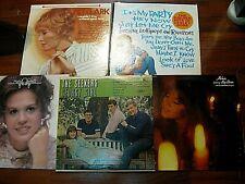 1960s Pop Rock Lp x 5 Seekers Leslie Gore Melanie Petula Clark Marie Osmond Vg+