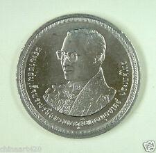 Thailand Commemorative Coin 20 Baht 2007 UNC, King's 80th Birthday