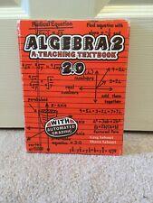 Teaching Textbooks Algebra 2 ( 2.0 Version) CDs Only Self Grading