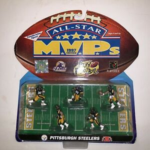 Vintage Steelers Mini Action Figures Jerome Bettis Card Has Wear See Pics E15