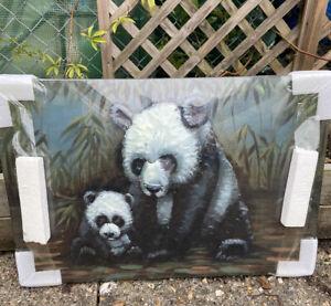 Fountasia Metal Art Pandas