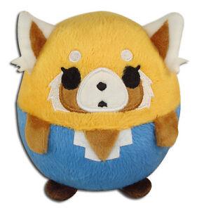 **Legit** Aggretsuko Authentic Anime Red Panda Ball Plush Normal Retsuko #52499