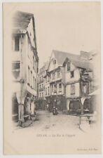 France postcard - Dinan - La Rue de l'Apport (A39)