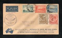 FIRST OFFICIAL  AIR  MAIL  AUSTRALIA  TO  PAPUA  AND NEW GUINEA (z)