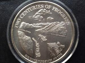 1988 Two Centuries of Progress Cincinnati Bicentennial Silver Medal A2023