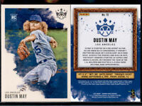2020 DIAMOND KINGS DUSTIN MAY #73 LOS ANGELES DODGERS ROOKIE RC