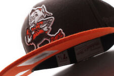 Mitchell & Ness Cleveland Browns NFL 2 Tone XL Logo Fitted Hat OB