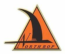 Northrop Logo Metal Aviation Sign, P-61 Black Widow, WWII Aircraft  SIG-0406