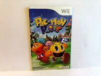 Pac-Man Party Nintendo Wii MANUAL ONLY Authentic Original