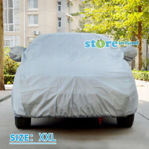 New Car Cover UV Resistance Dust Scratch Dirt Protection Size XXL SUV