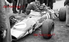Jim Clark Gold Leaf Team Lotus 48 Hockenheim F2 1968 Photograph 16