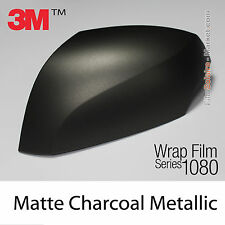 10x20cm FILM Matte Charcoal Metallic 3M 1080 M211 Vinyle TOTAL COVERING Wrap