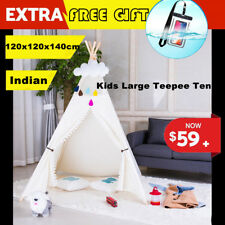 Princess Castle Girls Play Tent Childrens Kids Teepee House Indoor Outdoor Df3
