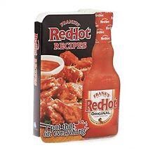 Franks Red Hot Recipes Cookbook Custom Shaped Boa