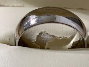 JARED Mens PALLADIUM Comfort Fit Wedding Band Size apps 10.5