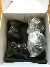 Microsoft Xbox 360 Slim Bundle, 4GB HDD, Two Controllers, Cables & Charging Dock