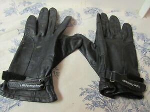 Harley Davidson Leather Riding Gloves Size M