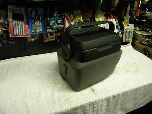 2001 - 2005 Pontiac Aztek  - Floor Console / Removable Cooler -- Gray   a