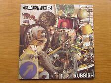 "CARTER USM Rubbish 1990 UK 12"" VINYL SINGLE IN PICTURE SLEEVE - BIG CAT USMX 3"