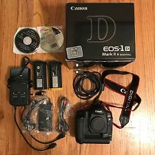 Canon Mark ii 1D N 8.2 mp Digital Camera body bundle. 2 batteries. Free ship!