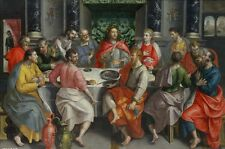 """36"""" large # TOP ART # The Last Supper Christ ART Painting ON CANVAS--FREE SHIP"""