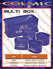 Matrioska in PVC MULTI BOX 5 pezzi Colmic portaesche pellet