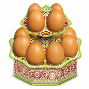 Decorative Cardboard Stand for Easter Eggs
