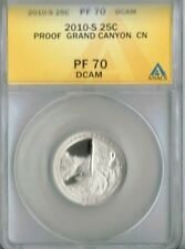 2010-S San Francisco Proof Grand Canyon ANACS Authenticated PF 70