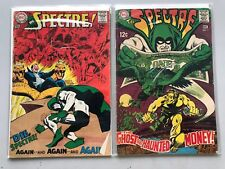 Lot of 2 Spectre (1967 1st Series) #2 7 FN Fine