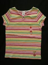 NWT Gymboree Girls Cherry Baby Striped Top Size 4
