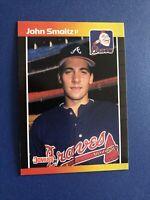 1989 Donruss John Smoltz #642 Baseball Card Qty 2