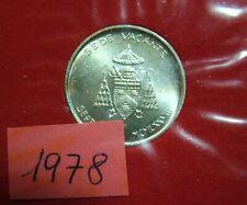 1978 Vatican 500 Livres Seat Vacant Sept