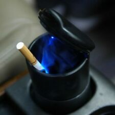 Portable Car Home LED Light Ashtray Auto Travel Cigarette Ash Holder Cup Black