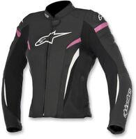 Alpinestars Stella GP Plus R Airflow Leather V2 Motorcycle Jacket Black | Pink 8