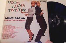 RARE 1962 orig JAMES BROWN Good Twistin' album I Don't Mind KING 780 MONO lp