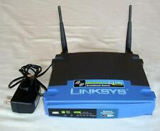 Cisco LINKSYS WRT54G V-5 4-Port Wireless-G Broadband Wireless Router 2.4 Ghz