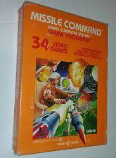 NEW  SEALED MISSILE COMMAND GAME FOR Atari 2600 USA NTSC CIB ( BOX NOT GREAT)