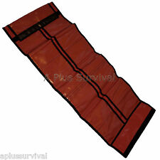 Red Roll up Sleeve for First Aid Kits Survival Supplies