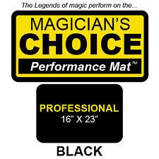 LARGEST Professional Close-Up MAT BLACK 16x23 playing cards deck magic trick
