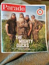 Parade Magazine July 28, 2013 Duck Dynasty The Robertsons Collectible