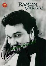 Vargas, Ramon - Signed Promo Photo