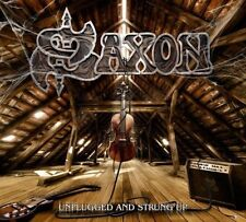 SAXON UNPLUGGED AND STRUNG UP DOPPIO VINILE LP 180 GRAMMI NUOVO