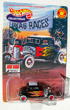 HOT WHEELS COLLECTIBLES LIMITED EDITION 1932 FORD COUPE SERIES 1 HOT ROD MAG.