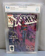 THE UNCANNY X-MEN #198 (White Pages) CBCS 9.6 NM+ Marvel Comics 1985 cgc