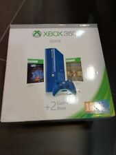 console Microsoft XBOX 360 E New Slim HDMI 500GB Blue GARANZIA 2 ANNI! NEW BOX