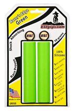 GREEN ESI MTB RACERS EDGE 130 mm BIKE BICYCLE GRIPS
