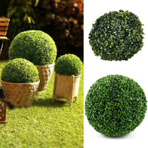 Artificial Topiary Balls Buxus Boxwood Faux Pot Plant Wedding Party Garden Decor