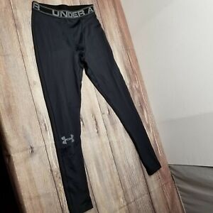 Under Armour Womens Size Medium Black Compression Yoga Running Pants