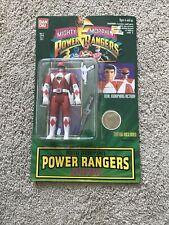 NIB Mighty Morphin Power Rangers Auto Morphin Red Ranger Jason Action Figure